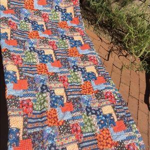 Vintage patchwork sleeping bag